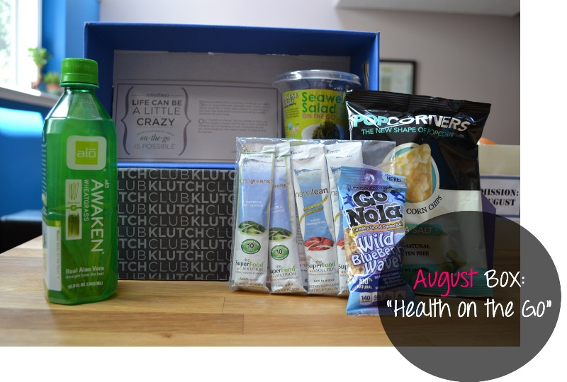 The Klutchclub Subscription Box. If healthy & fit is your thing, this is your box. Read all about it here!
