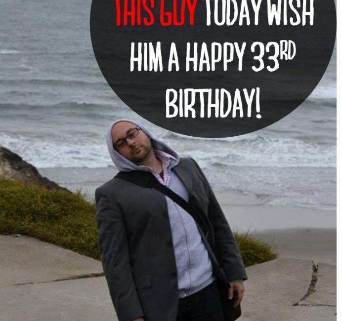 Happy Birthday to my hubby!