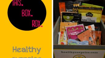 Healthy surprise sends you a box every month filled with the highest quality snacks that you are 110% guaranteed to love. Here's my review of one of their monthly subscription boxes. You can find links and additional details in my subscription box directory.