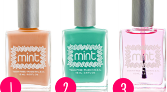 Mint Nail Polish makes toxic nail polish that comes in the best colors ever. My thoughts here.