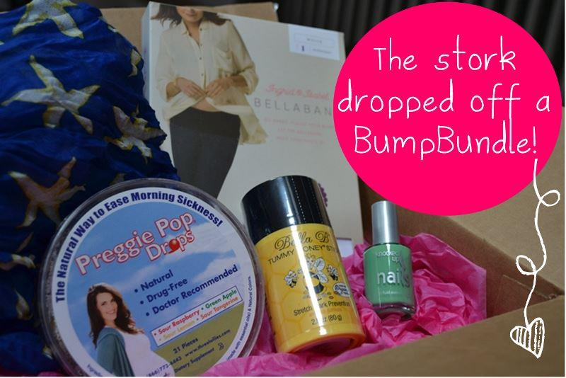 Baby Bump Bundle offers pregnancy products curated in bundles for mom-to-be by trimester & gift boxes for newborn babies and nursing new moms Here's my review of one of their monthly subscription boxes. You can find links and additional details in my subscription box directory.
