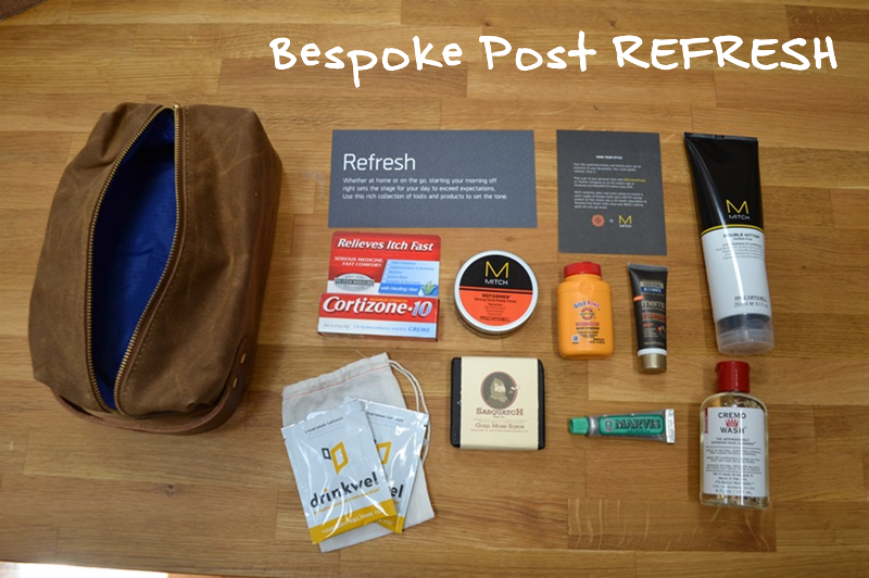Bespoke Post offers themed boxes for guys who give a damn. Thoughtful collections of goods from small-batch brands, delivered monthly. Here's my review of one of their monthly subscription boxes. You can find links and additional details in my subscription box directory.