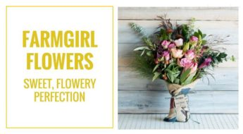 Farmgirl Flowers creates unique flower arrangements. Here's why I think they are awesome.