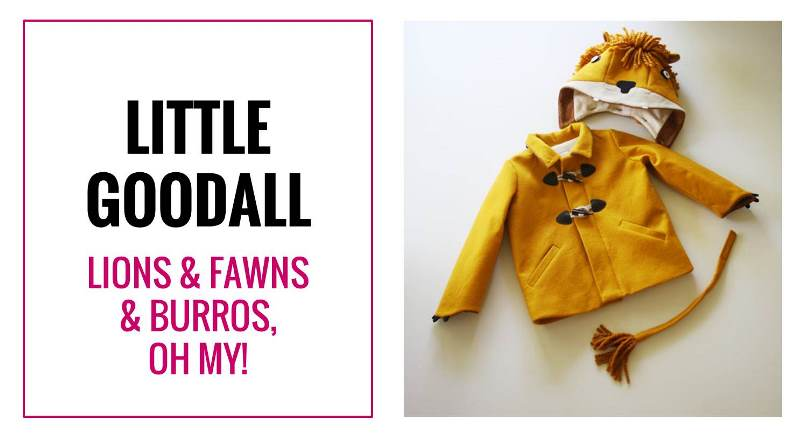 Little Goodall Specializes in whimsical handmade children's clothing. Here's why I think they're awesome.