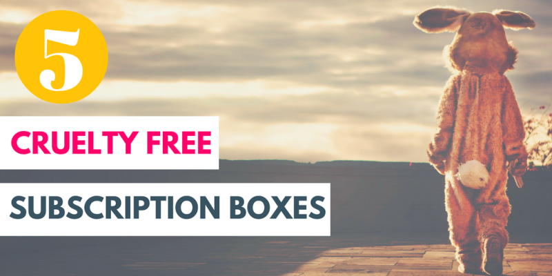 Here's 5 cruelty subscription boxes just added to my subscription box directory!