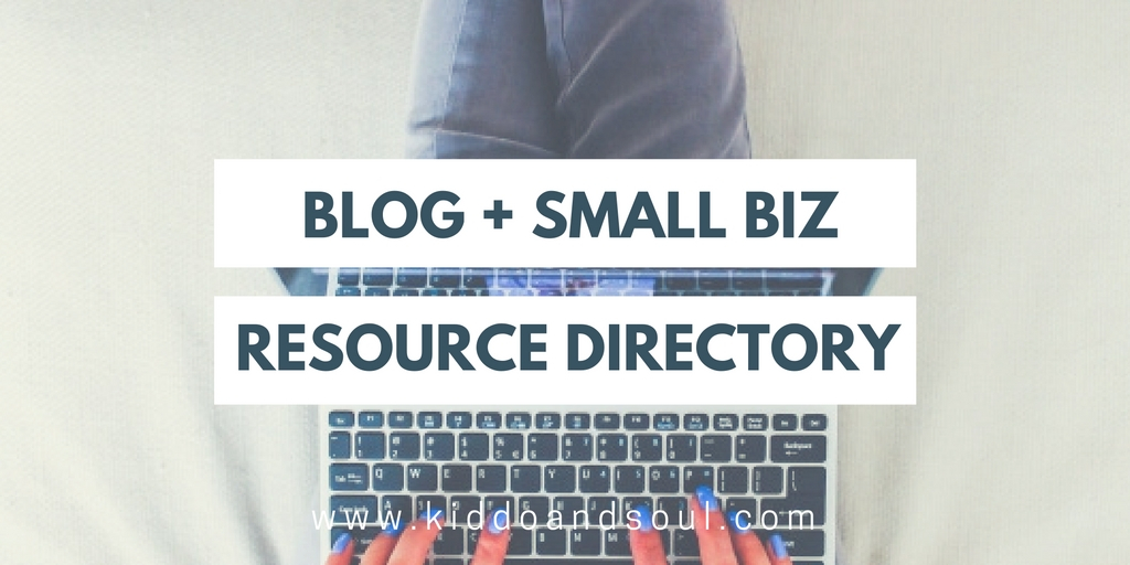 This is a growing list of resources to help you grow your blog or other small business. Check back often for updates!