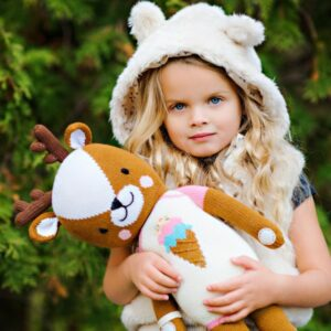 Cuddle + Kind makes ethically produced dolls and provide 10 meals to children in need for every doll purchased!