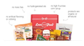 Heres a sneak peek at Love with Food's December Box!