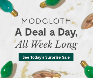 Modcloth's a deal a day sale!