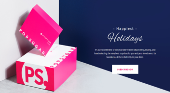 PopSugar MustHave boxes are on sale now! Here's the link.