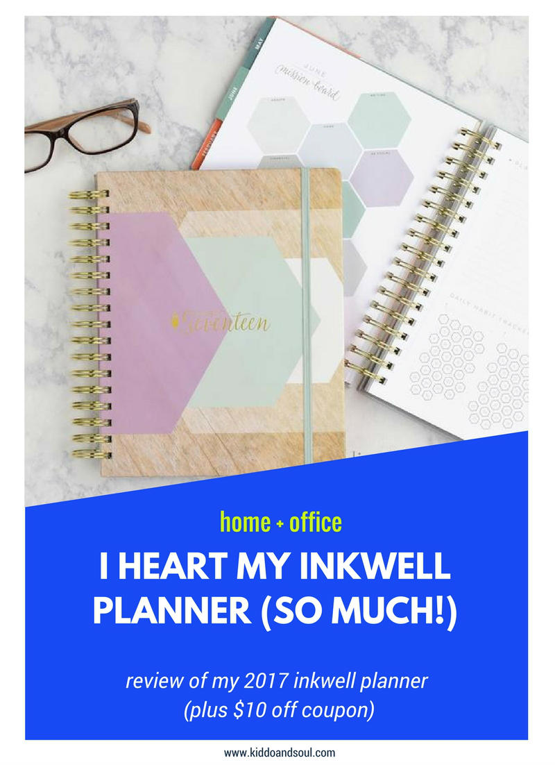 2017 INKWELL LIVEWELL PLANNER REVIEW + $10 DISCOUNT!