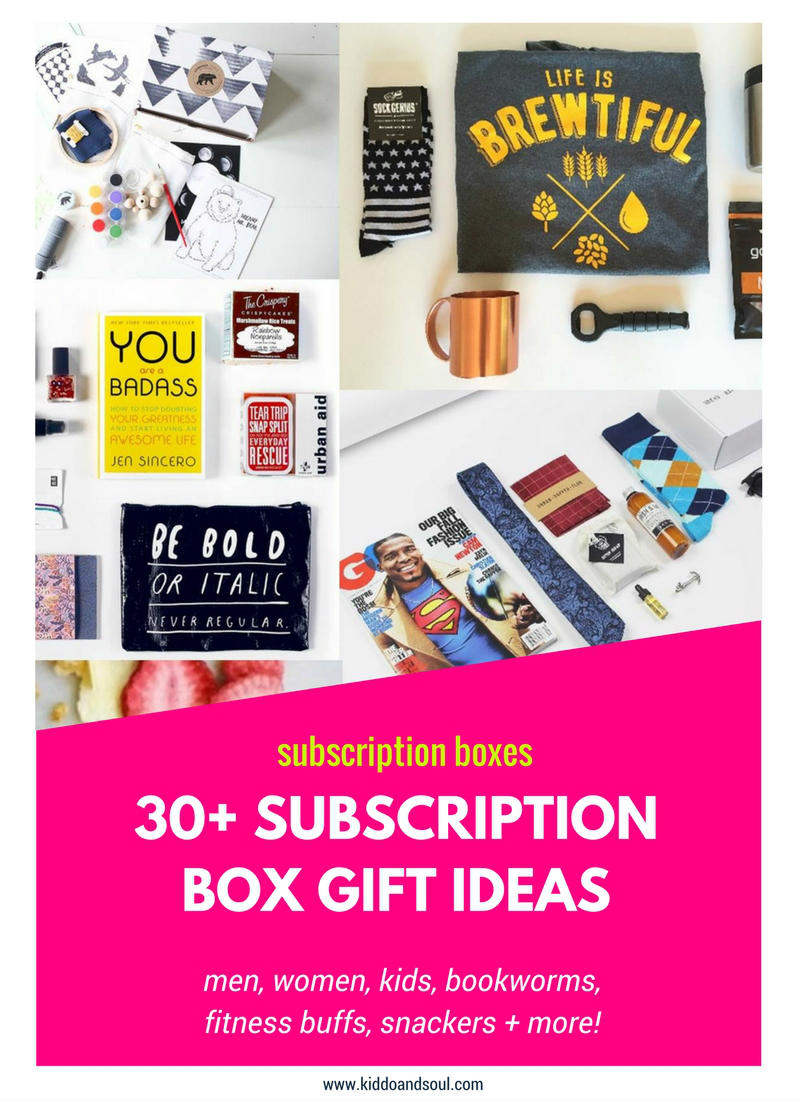 Check out these amazing subscription box gift ideas from the Cratejoy Marketplace!