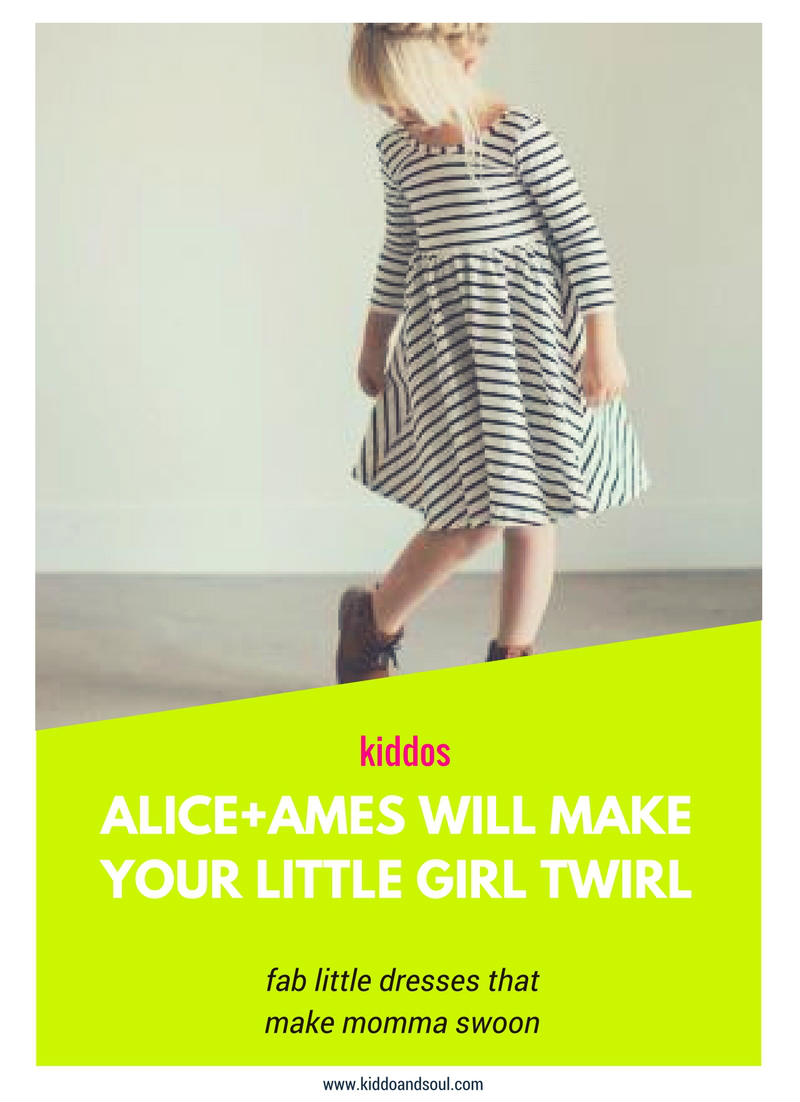 Alice + Ames makes classic and playful girls clothing. Here are my faves!