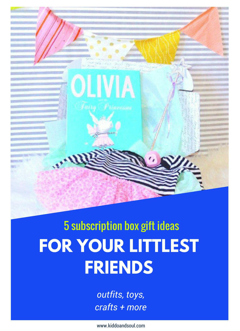 Here's 5 subscription box gift ideas for kids!