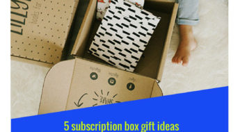 Check out these 5 subscription box gift ideas for people who love to read!