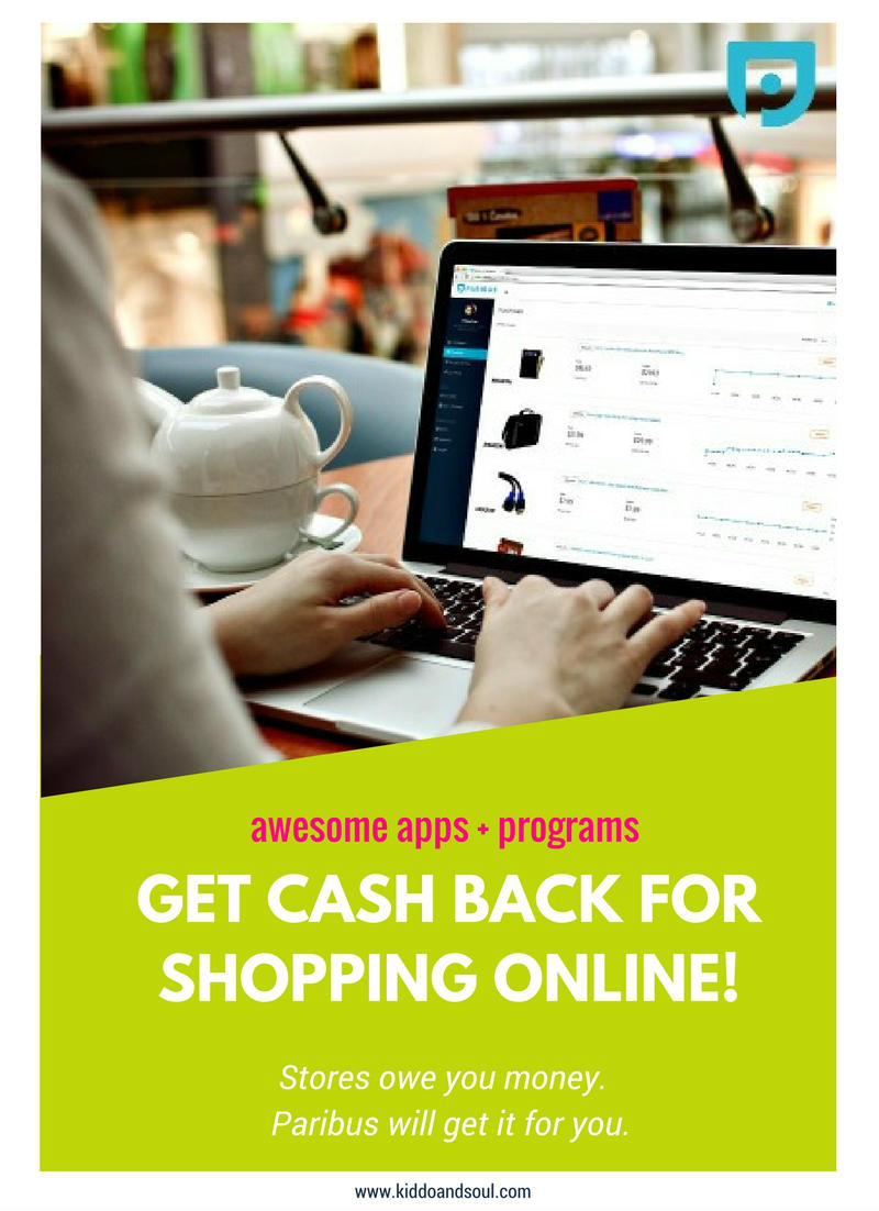 If you're online shopping, it's likely that stores owe you money. Paribus will get your cashback for you.