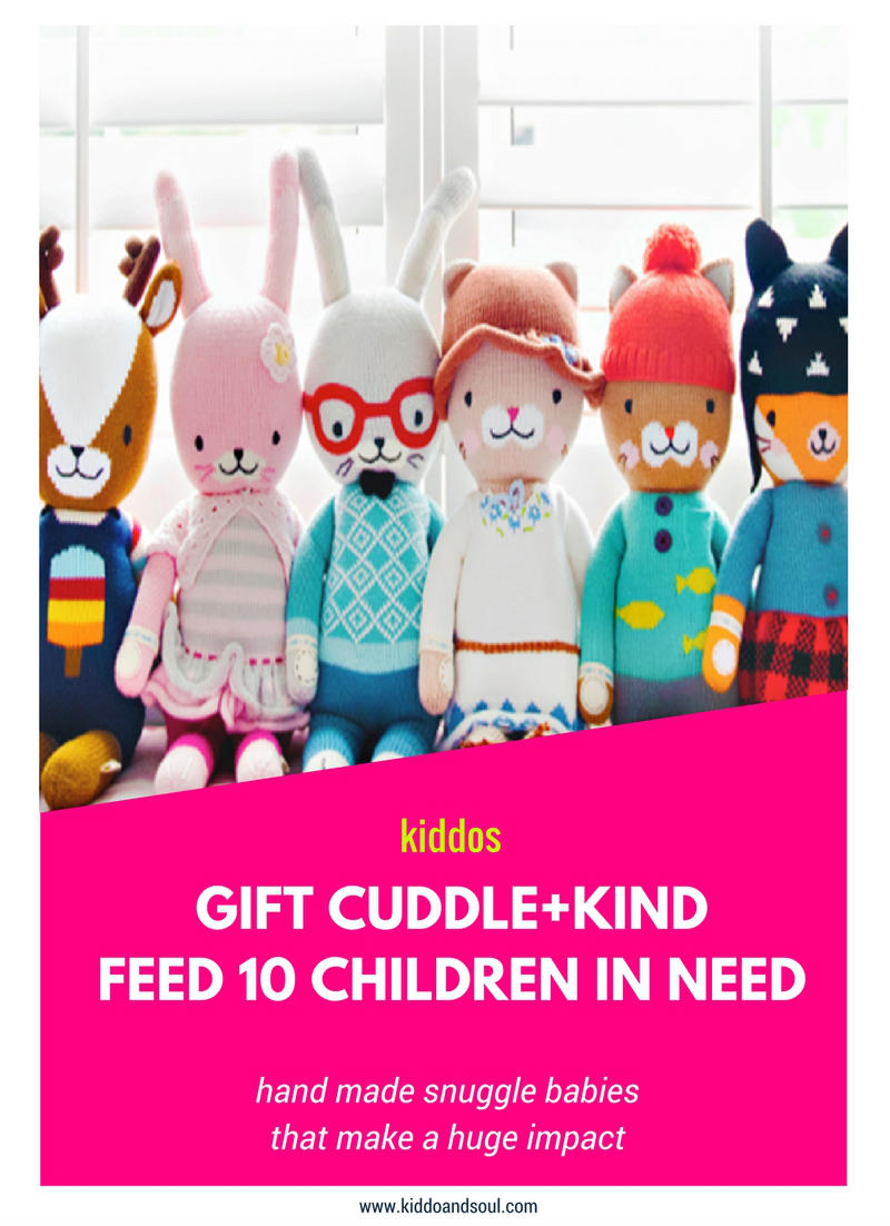 GIFT CUDDLE + KIND AND FEED CHILDREN IN NEED