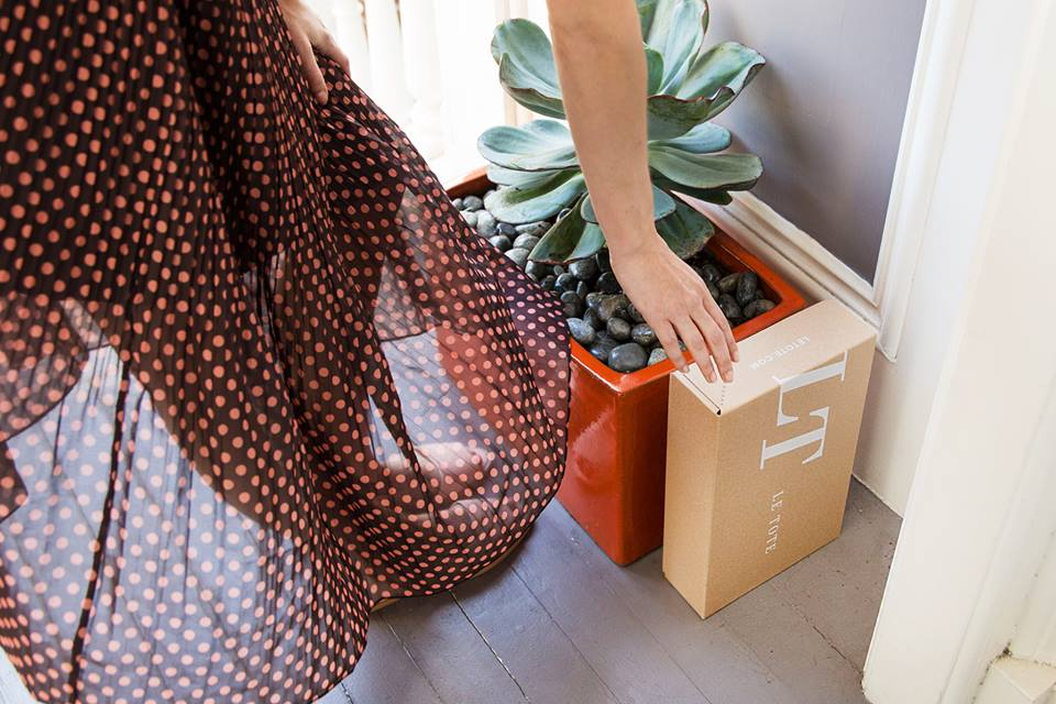 Le Tote provides clothing rental in the form of a monthly subscription. Here's the deets, plus 60% off!