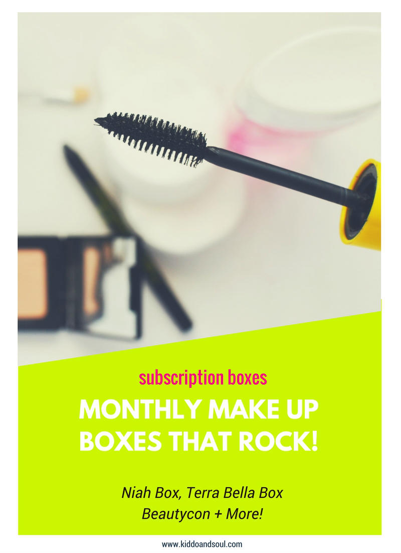I just love monthly make up boxes! Here's some deals going on this month!