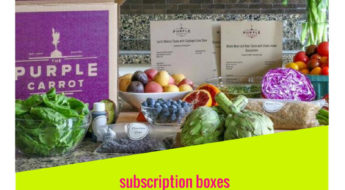 Purple Carrot ships healthy ingredients and delicious recipes to busy, health-conscious people, using only whole food plant-based ingredients.