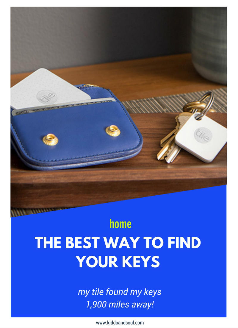 THE BEST WAY TO FIND YOUR KEYS (Get a Tile). I lost mine the other day and my tile found them 1900 miles away!