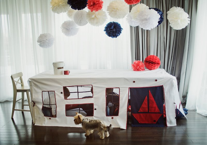 I'm in love with these kids tents from Striped Coast on Etsy!