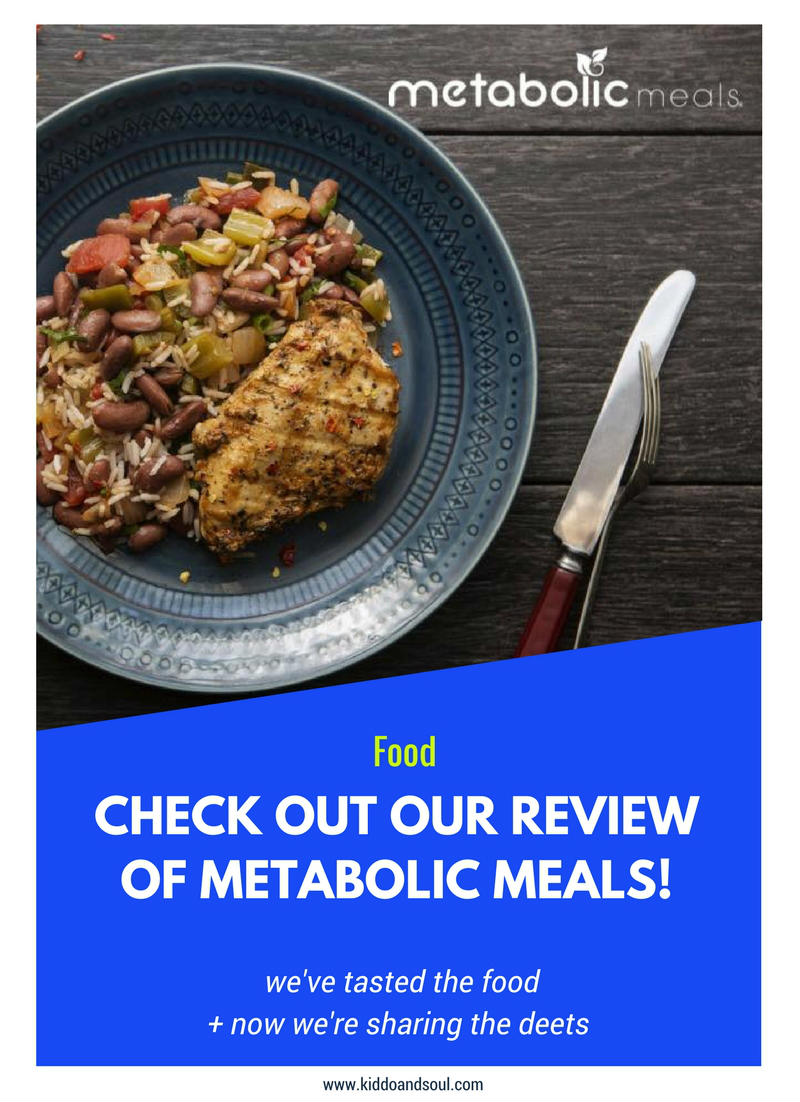 HEALTHY MEAL DELIVERY REVIEW- Metabolic Meals (Wk 1)