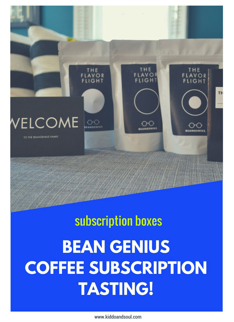 I'm reviewing the Bean Genius Coffee Subscription on the blog!