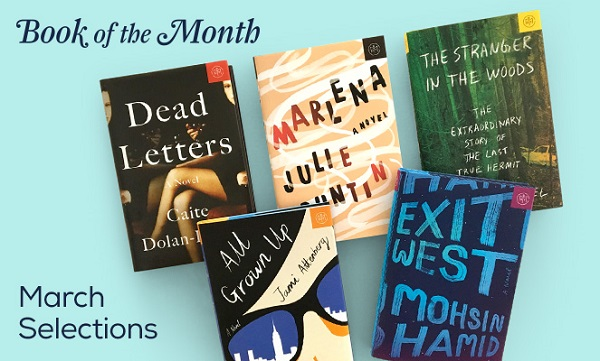 Book of the Month March Selections are here!