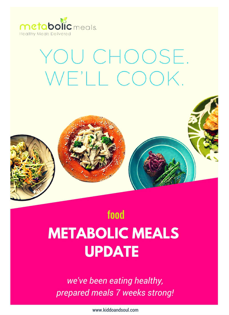 We've been eating Metabolic Meals for 7 weeks (and counting). Here's an update!