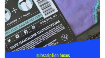Check out my review of this awesome underwear subscription from Skivvie Nix!