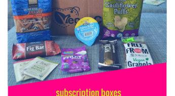 I'm reviewing yummy vegan snacks from Vegan Cuts!