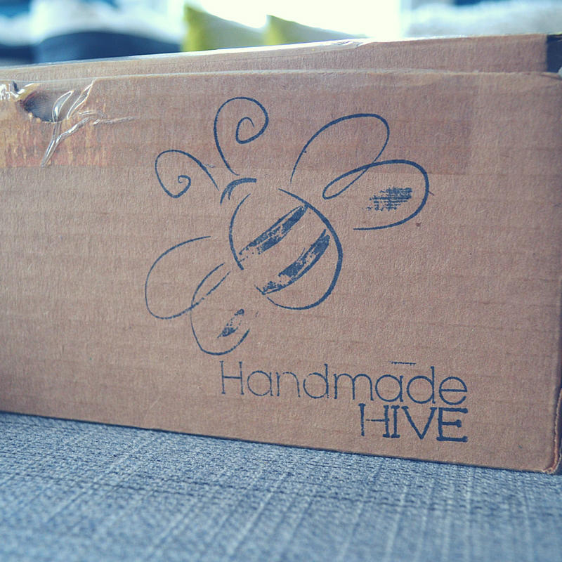 I'm sharing the fabulous Handmade Hive subscription box on the blog! Check it out :)