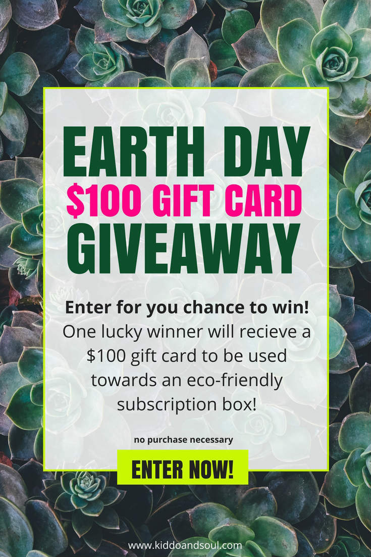 Enter my Earth Day Giveaway for a chance to win a $100 gift card!