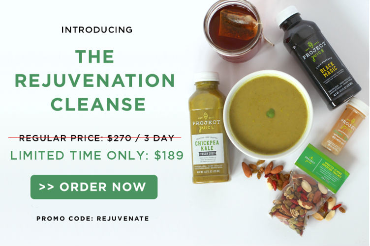 Get 30% off this amazing juice cleanse from Project Juice!