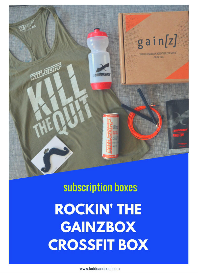 ROCKIN' THE GAINZBOX CROSSFIT BOX ON THE BLOG!