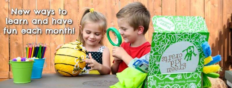 Celebrate Earth Month with Green Kid Crafts and these amazing deals!