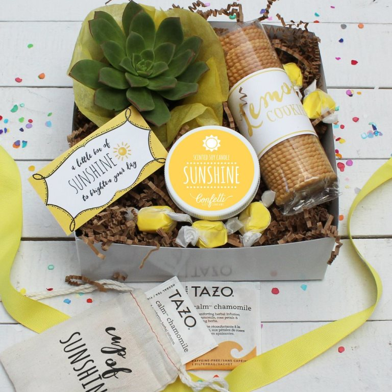 I have such a fun gift idea on the blog today! Introducing The Confetti Gift Company!