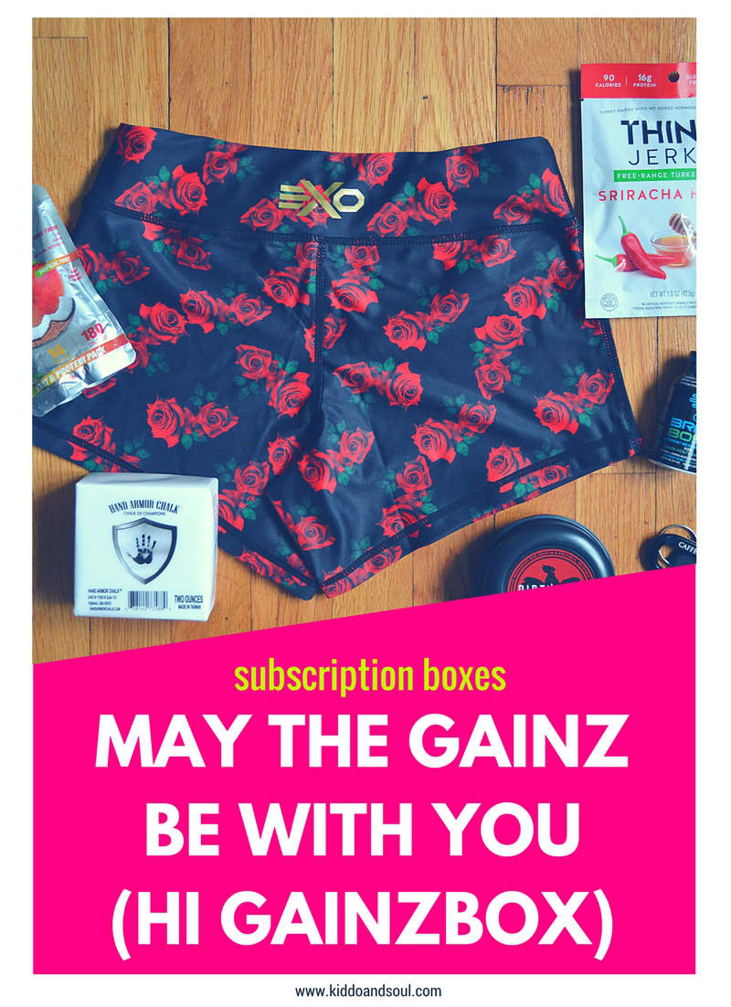 Excited to be sharing the May, May the Gainz Be With You Gainz Box!