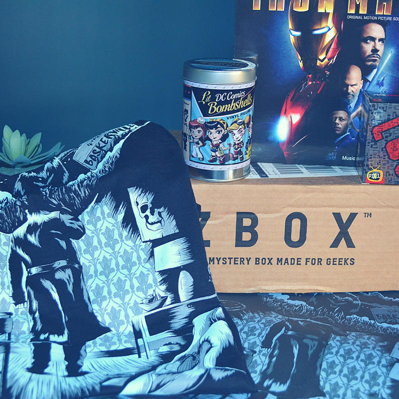 I've got the ZBOX on the blog and am reviewing the April Genius Box