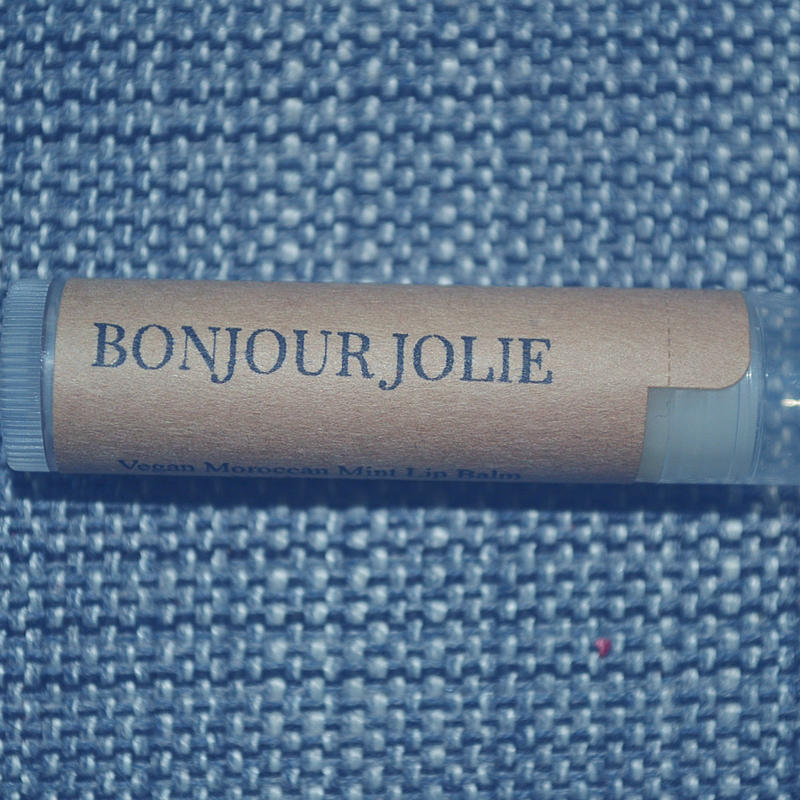 I've got Bonjour Jolie on the blog and they're pampering us right around that time of the month.