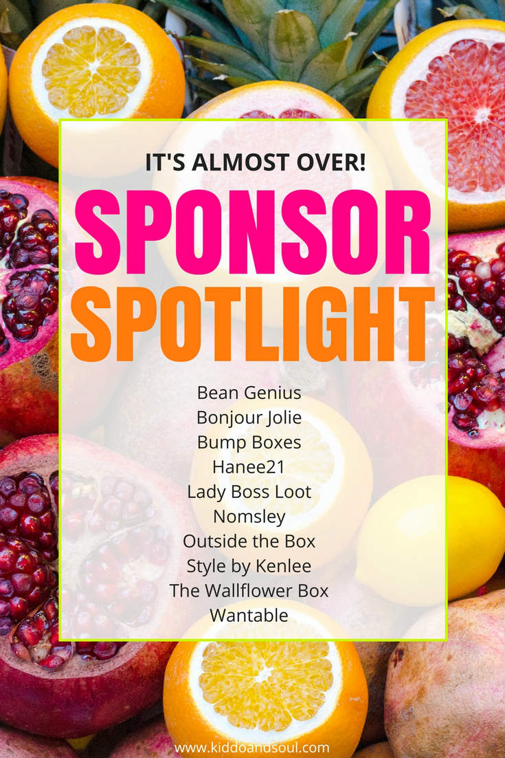 If you're following along, it's day 3 of the huge subscription box giveaway and I'm featuring 5 of the awesome sponsors.