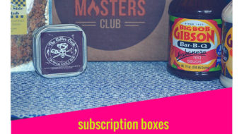 I've got Grill Masters Club on the blog today and am sharing my most recent review of thier box!