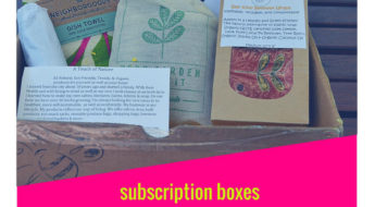 I'm sharing my second review of Handmade Hive and am still in sweet love with this handmade Subscription box.