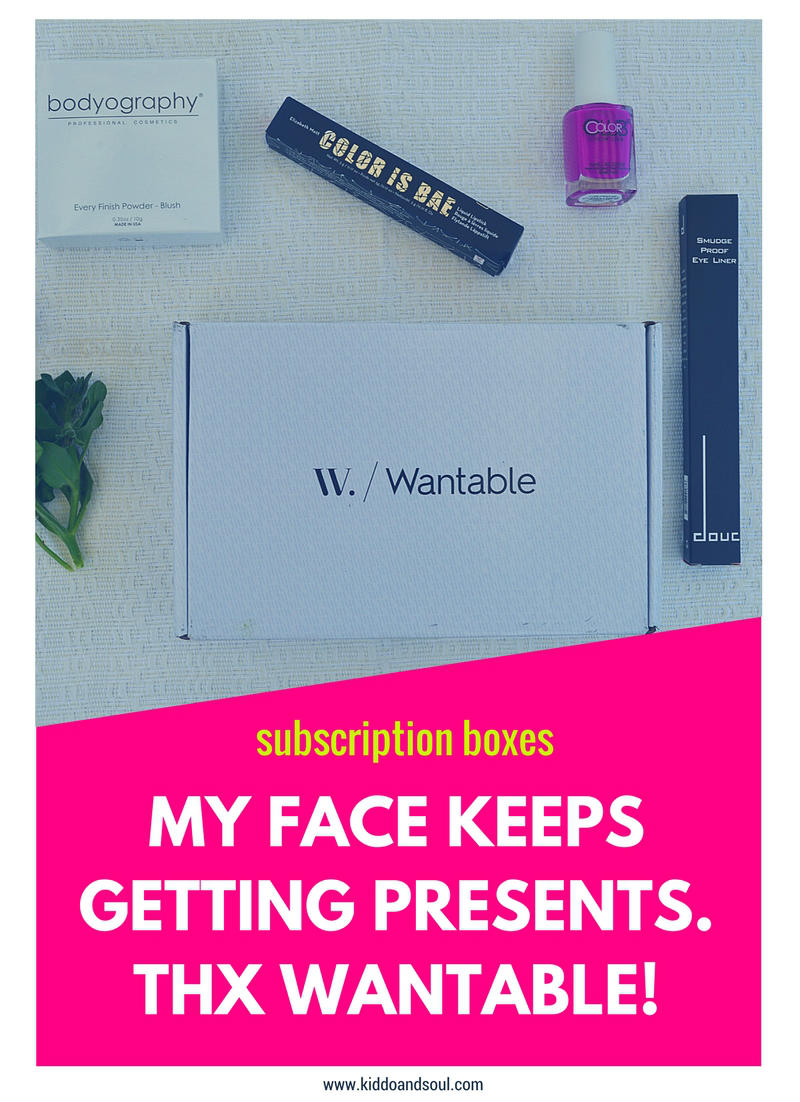 I've got the May Wantable Box in the blog and it's even better than the last two!