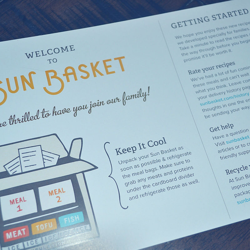 We just tried Sun Basket and it is an awesome organic meal delivery service for the whole family!