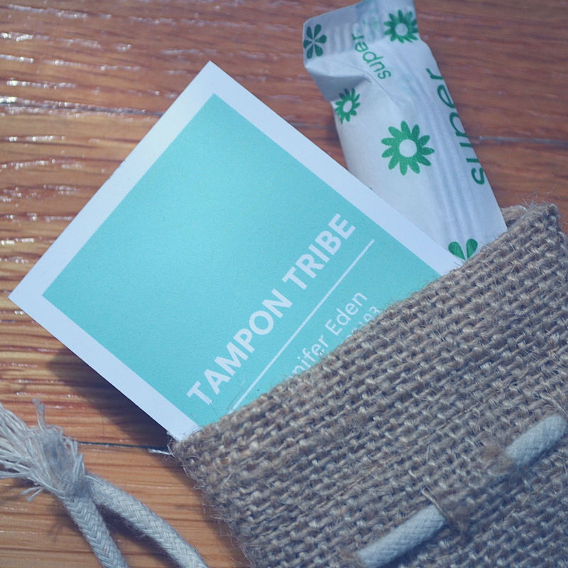 I'm reviewing organic tampons on the blog with Tampon Tribe. Check em' out here!