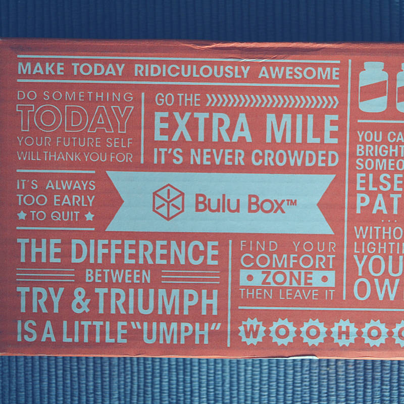 Bulu Box is packed with health, fitness + weight loss products to try!