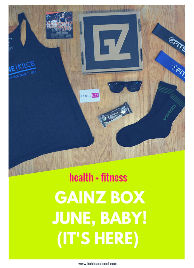 GAINZ BOX JUNE BABY!  WANNA WIN THIS BOX?