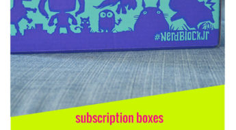 I'm reviewing Nerd Block Jr and it's such a fun kids box!